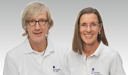 Dr. med. Christiane Karrenberg und Dr. med. Christian Guhl, Fachärzte für Orthopädie