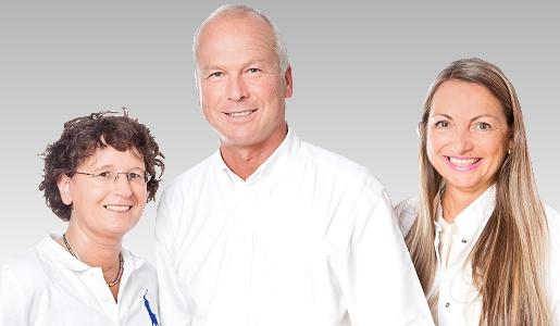 Dr. med. Gert Graebner, Dr. med. Heike Fekete, Dr. med. Martina Priller, Orthopädie Köln